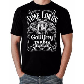 Camiseta Doctor Dr Who Jack Daniels Geek Serie Tardis Tempo
