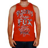 Camiseta Regata Fox Hammer Drop Vermelho Rs1