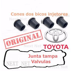 Junta Tampa Valvulas Retentor Bico Injetor Hilux Motor 3.0
