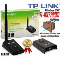 Adaptador Usb Tlwn 7200nd 150mbps Wifi Laptop Pc Tp-link