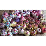 Dije Cupcake De Porcelana Fria