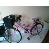 Bicicleta De Dama Casi Nueva