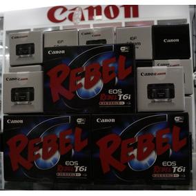 Canon T6i Com Lente 18-55 Stm Lacrada+lente 50mm Stm Lacrada