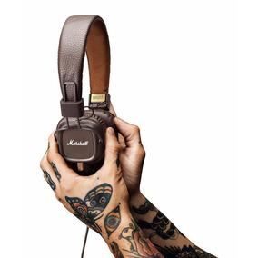 Headphone Headset Fone Marshall Major Brown Marrom Pitch