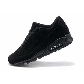 Zapatillas Nike Air Max De Gamuza Negra Talle 43 Nuevas
