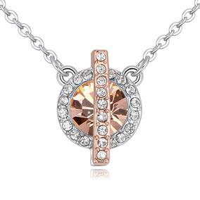 Collar Con Cristales, Ocean Heart Oh17-216