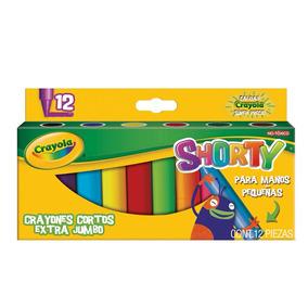 Caja 12 Crayones Colores Shorty Crayola