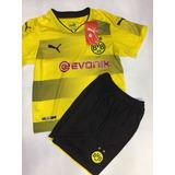 Conjunto Infantil Do Borussia Dortmund Modelo 2018 Envio Ja
