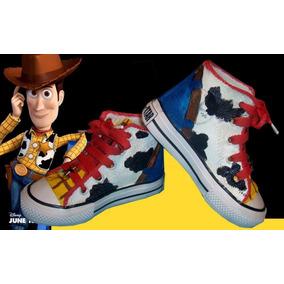 Botas Pintadas/customizadas Personalizadas Woody Toy Story