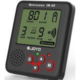 Metronomo Joyo Jm-60 Recargable Todo Instrumento Musical