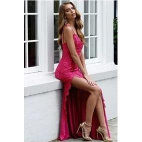 Vestido Madrinha Casamento Formatura Festa Longo Renda Sexy
