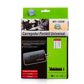 Fonte Carregador Universal Notebook Laptop + Novo + Caixa