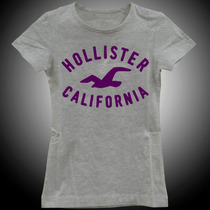 Camiseta Baby Look Feminina Hollister California