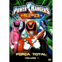 Dvd Power Rangers Spd Força Total Vol 1 - Original Lacrado