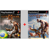 Patch Ps2 God Of War 1 E 2 Para Ps2 É Patche Frete Gratis