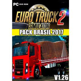 Euro Truck 2 Mapa Brasil Total 2017 Patch C/420 Caminhões Br