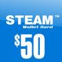 Steam Wallet Card $50 Dolares Validas En Counter Strike