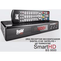 Receptor Analógico Digital Hd Bs 9500 Canais Via Satelite