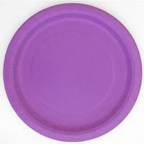 9 Cena Bastante Púrpuras Placas 20-count