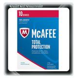 Antivirus Mcafee Total Protection 2018 10 Pcs Mac Andr 1 Ano