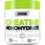 Creatina Monohidrato 300 Gr Star Nutrition Micronizada