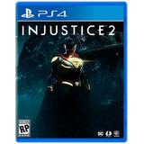 Injustice 2 Ps4 Nuevo Físico Caja Sellado Play 4 Alclick