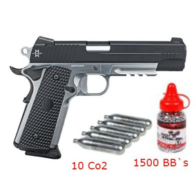 Pistola Sig Sauer 1911 Max Michaels Co2 Bb´s Lista Para Usar