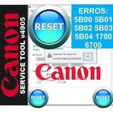 Reset Canon St4905 Para Modelos G2100 G3100 Y Mas De 100 +