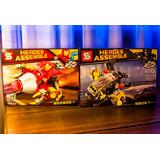 Minifiguras Sy 2x1 Heroes Assemble Marvel Dc Simil Lego