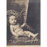 Antigua Fotografia Beba En Un Sillon Carton
