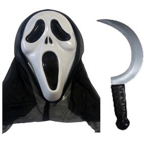 Mascara Do Panico Com Capuz E Foice Festa Terror Halloween
