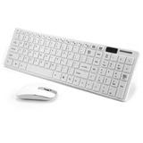 Combo Teclado Mouse Inalambrico Modelo Slim 2.4 G