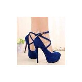 Sapatos Feminino Sandálias De Salto 15 Cm Festa Casamento