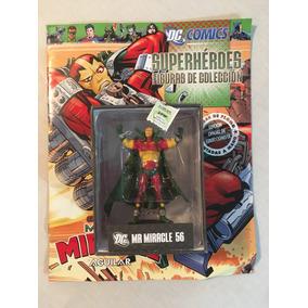 Figura Dc Comics #56 Mr Miracle Señor Milagro Aguilar Plomo