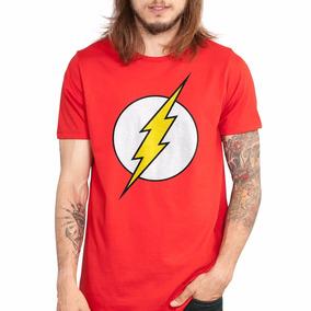 Camiseta Flash Dc Comics