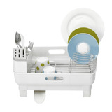 Uniware New Style Plastic Dish Rack,17 X 13 Inches, White