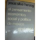 El Pensamiento Economico, Social Y Politico. Jesus . 903