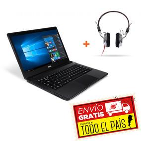 Notebook Rca 14 Core I3 500gb 4gb + Auriculares C-44i34500