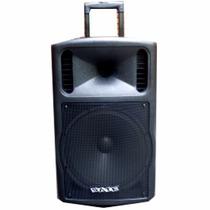 Caixa De Som Amplificada 400w 12 Usb/sd/bluetooth 2 Mic Show