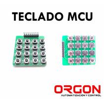 Teclado Mcu 4x4
