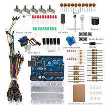 Sunfounder Uno R3 Sidekick Basic Starter Kit W/ Breadboard