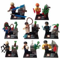 Minifigures Justiça Jovem - Jovens Titans - Flash, Superboy