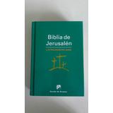 Biblia De Jerusalen Latinoamericana Pequeña Catolica