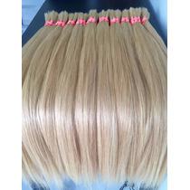Cabelo Humano Natural Loiro Claro 75cm 100gramas Mega Hair