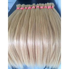 Cabelo Humano Natural Loiro Claro 75cm 50gramas Mega Hair