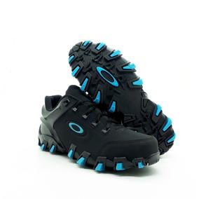 Tênis Bota Oakley Preto Azul Nike Nmd Masculino Oferta 83eb5ca0718fc