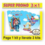 Kit Imprimible Promo 3x1 Topa Junior Express Cotillón Candy