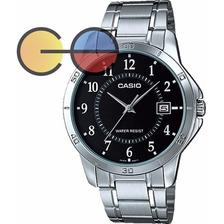 Casio Reloj Hombre Correa Metálica Resiste Agua Mtp V004 D
