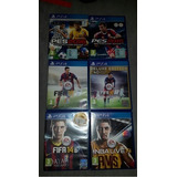 6 Juegos Ps4 De Futbol Soccer Originales Super Oferton