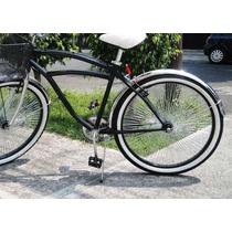 Parador Central Para Bicicleta En Acero R 27 A 28